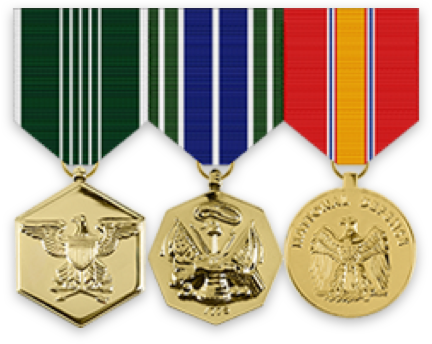 Anodized Medals